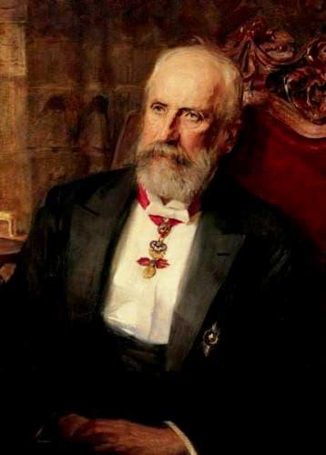 Kníže Jan II. roku 1908 (výřez)