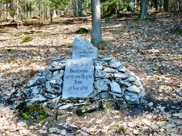 Jubilejní kámen u Olomučan