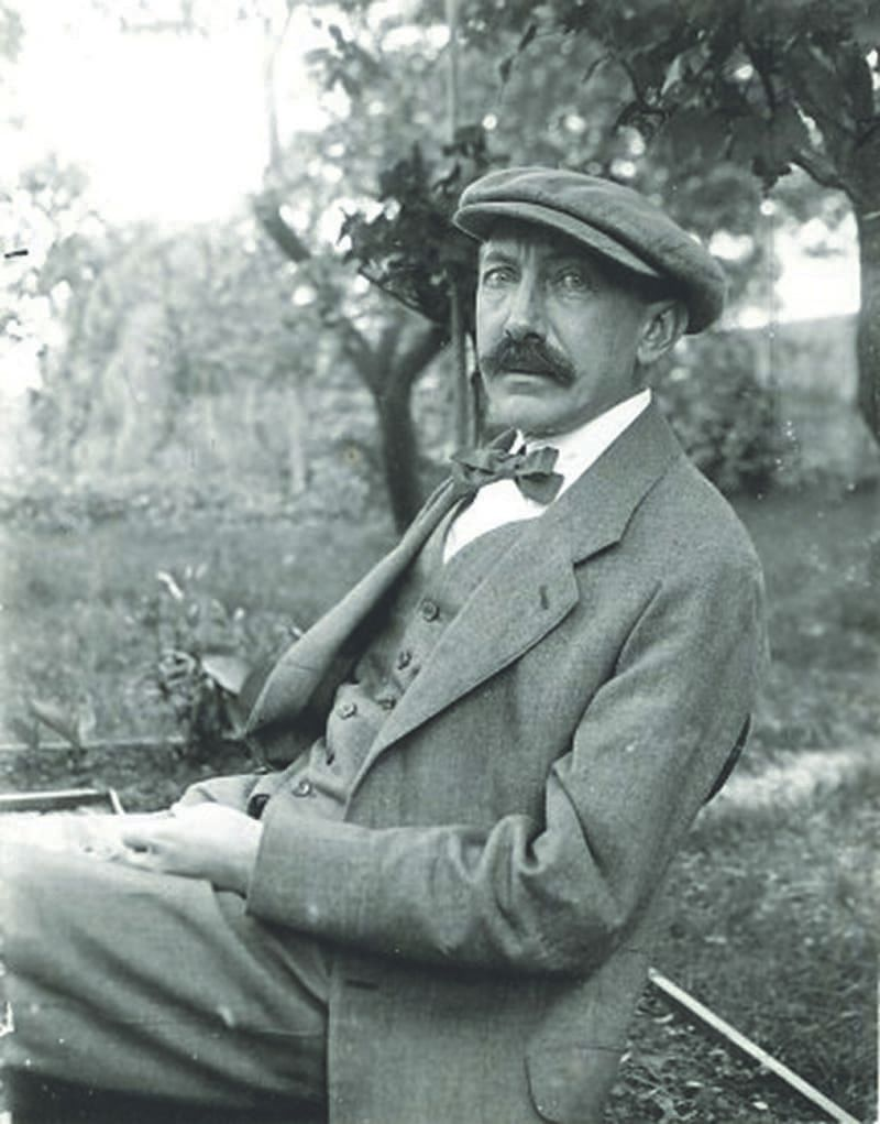 Malíř Adolf Kašpar