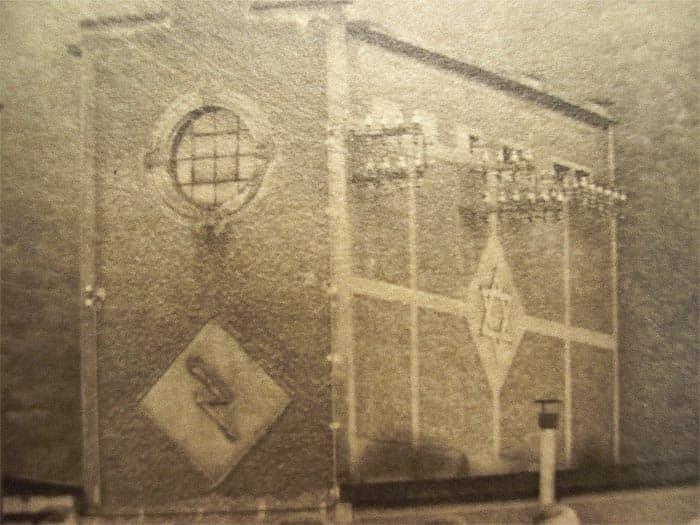 Trafostanice v areálu továrny v Mariánském Údolí