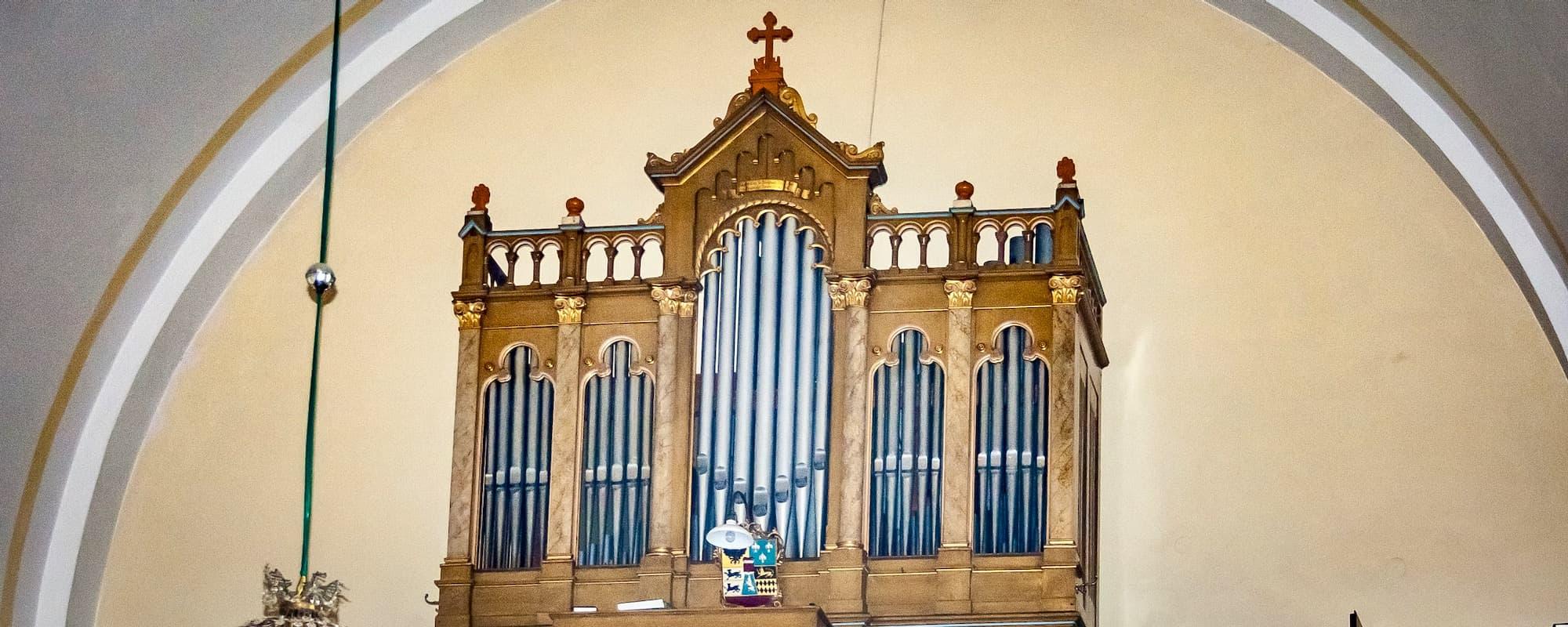 Varhany v Kostele Božského Srdce Páně v Hlubočkách