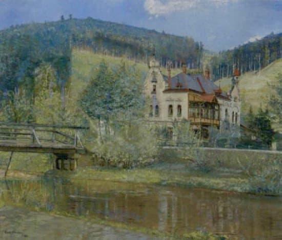 Vila v Hlubočkách (aukční síň artprice.com)