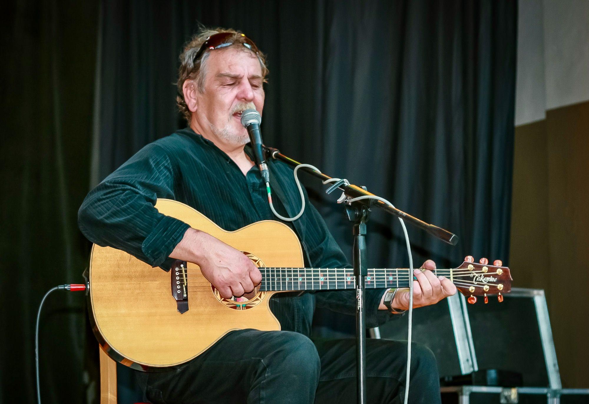 Wabi Daněk - Folk Na Letním v Hlubočkách 2007