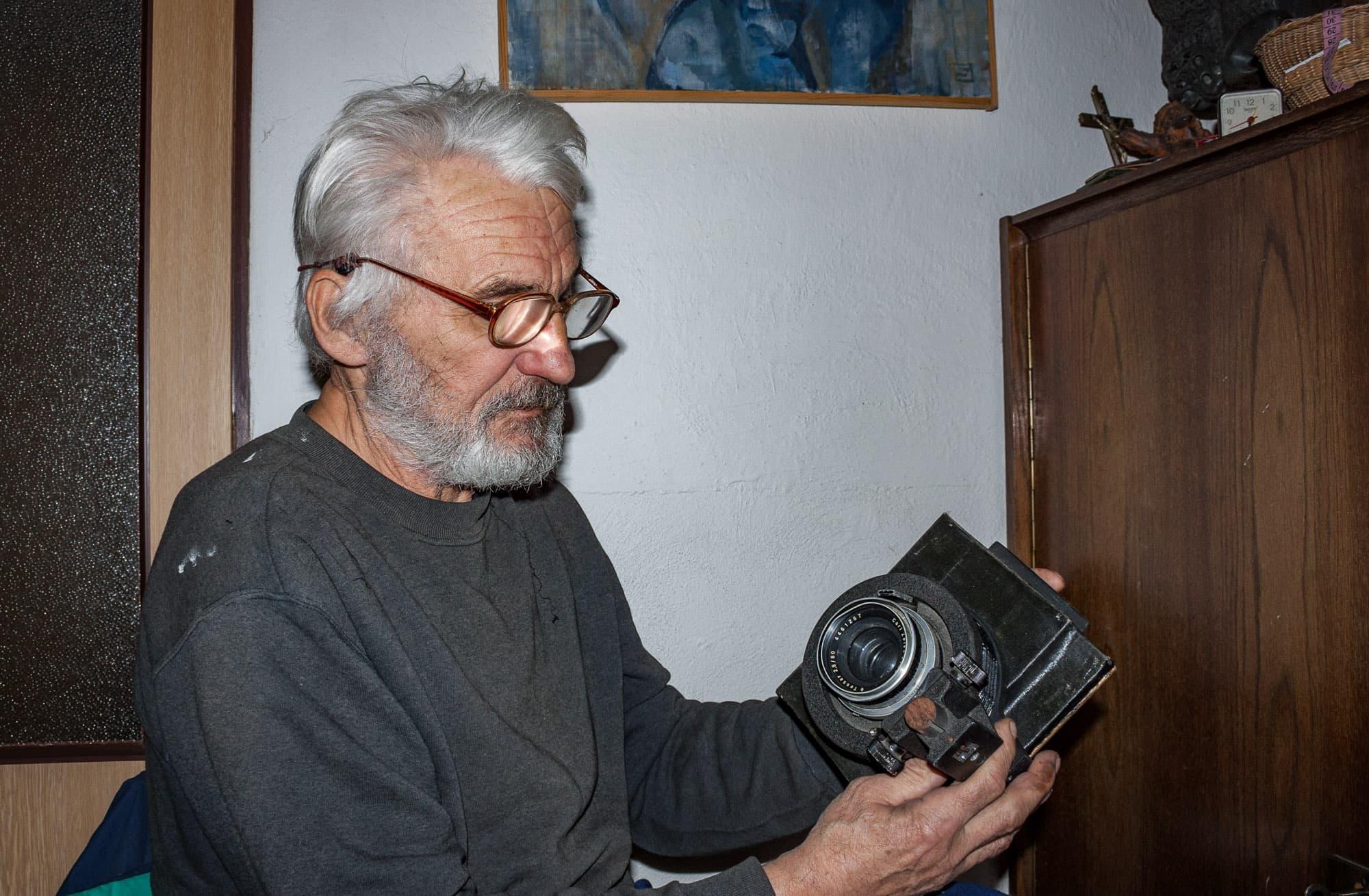 Vlastnoručně vyrobený fotoaparát
