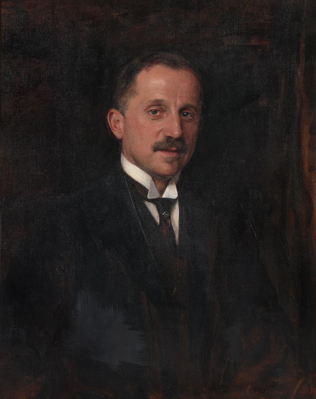 Max Machánek (autor: Boleslaw Jan Czedekowski – 1913)