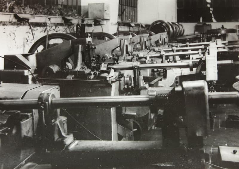Stroje značky Wafios