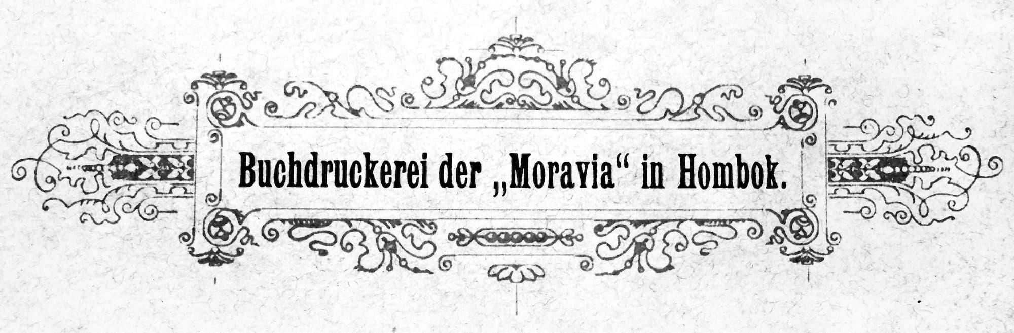 Knihtisk v Moravii v Hlubočkách
